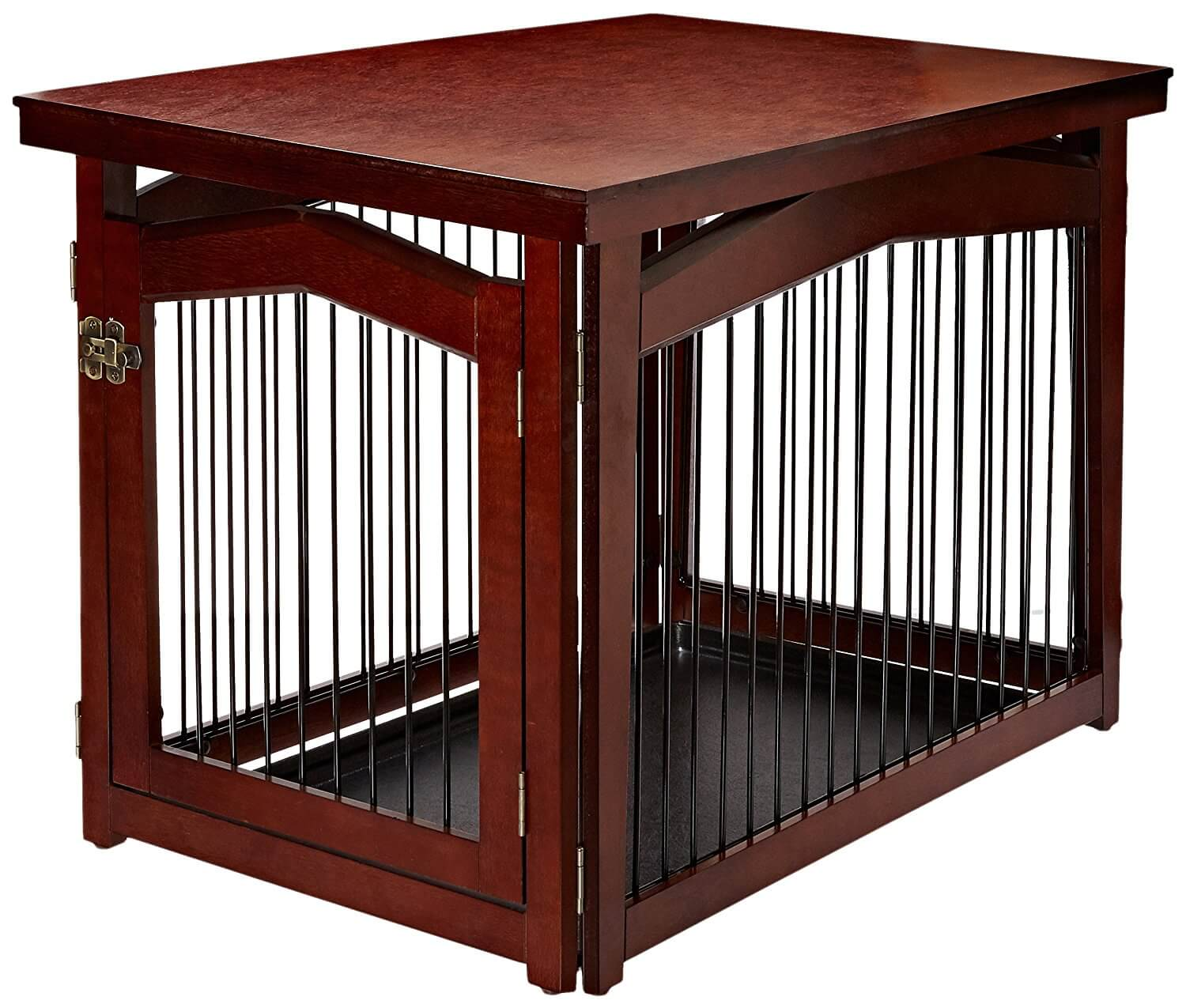 wooden frame dog crate