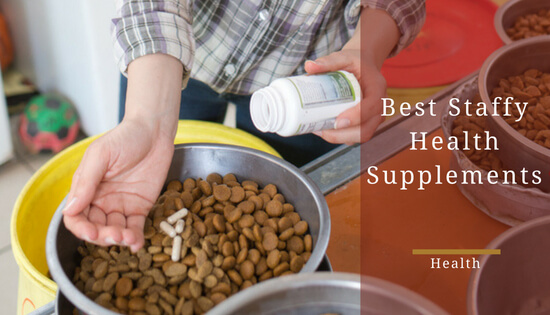 best supplements for staffordshire bull terriers