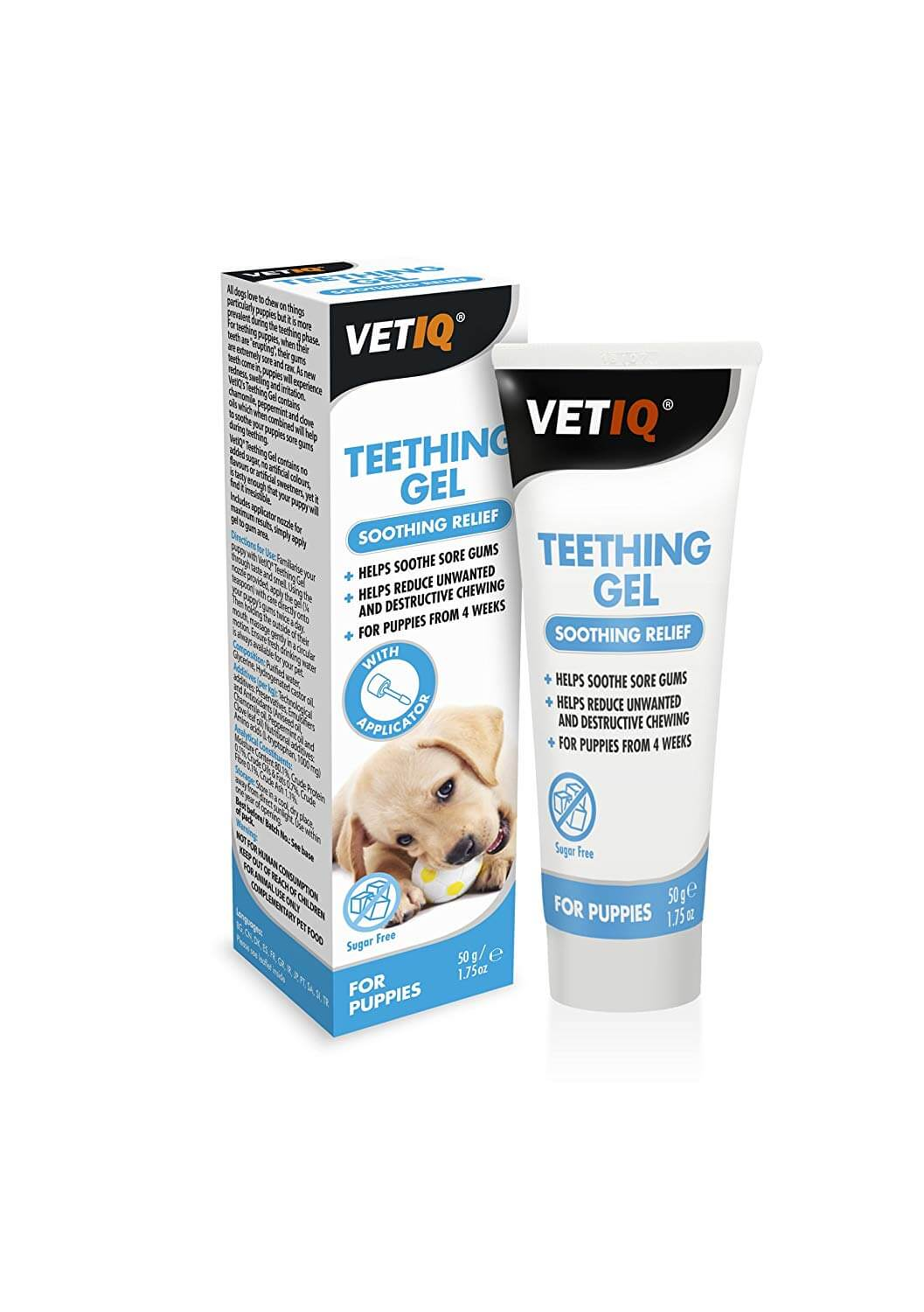 Puppy teething gel