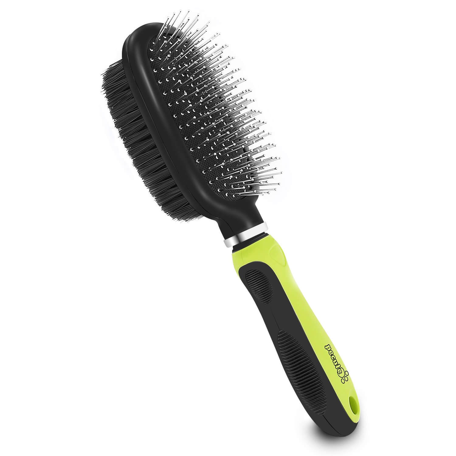 Percute grooming brush