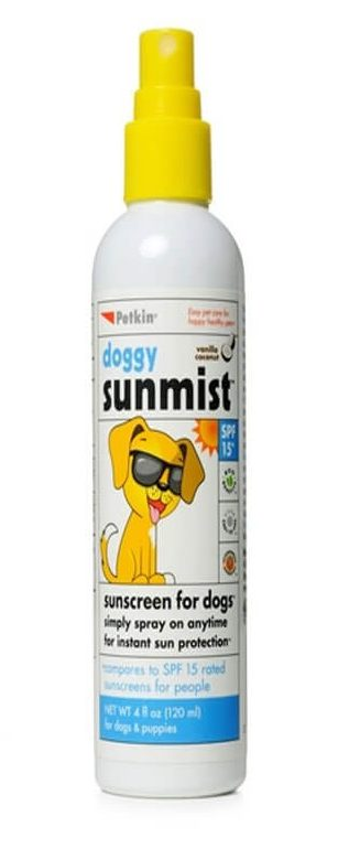 dog sun screen