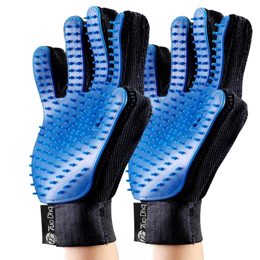 tuoding grooming gloves