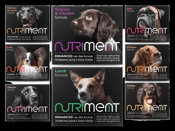 Nutriment raw dog food