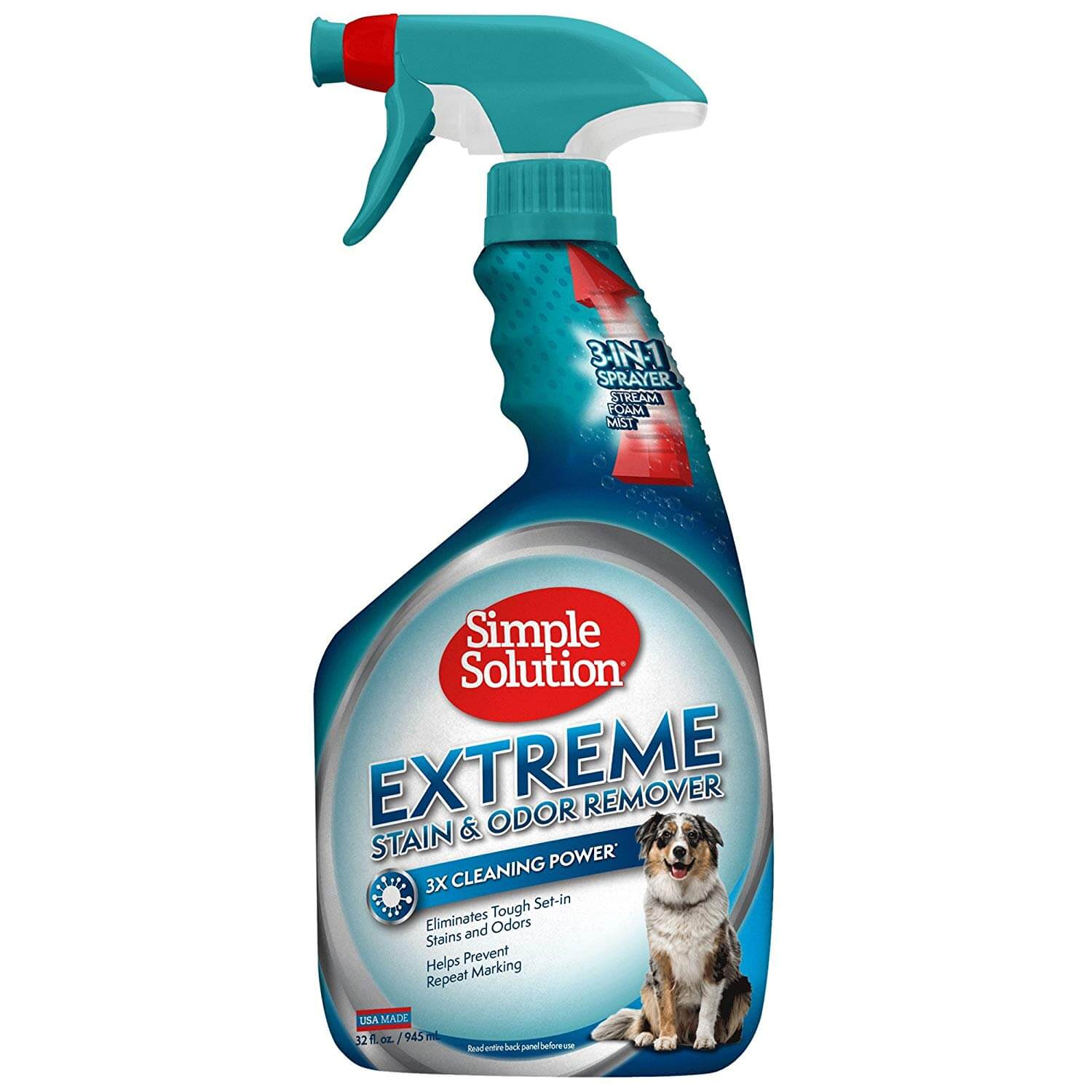 Dog odour removal spray