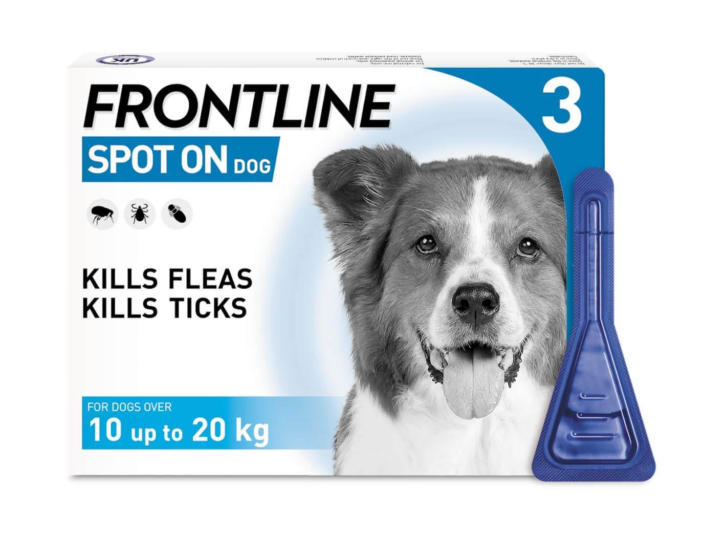 Frontline flea treatment