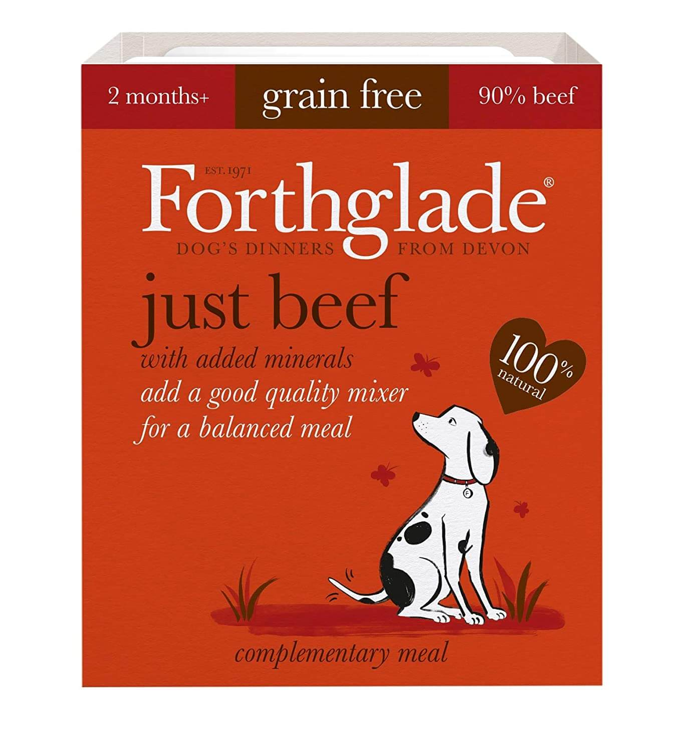 Forthglade dog food image